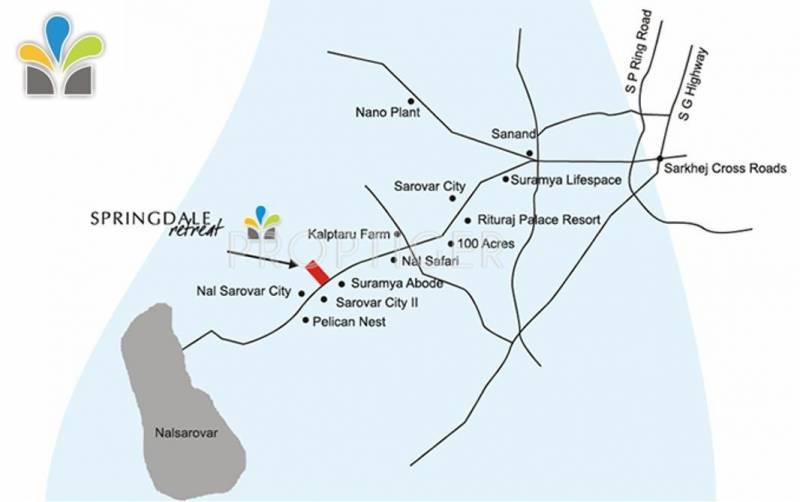 Images for Location Plan of Sandesh Springdale Retreat