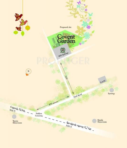 Space Group Covent Garden Location Plan