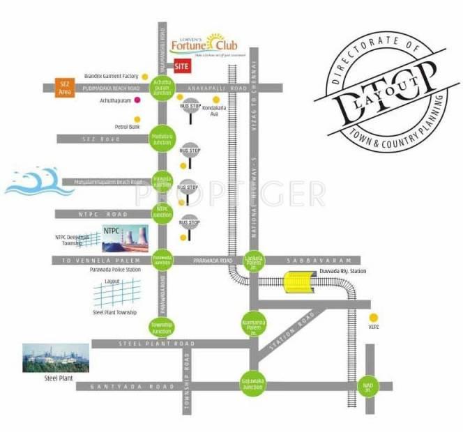 Images for Location Plan of Vasundhara Lorvens Fortune Club