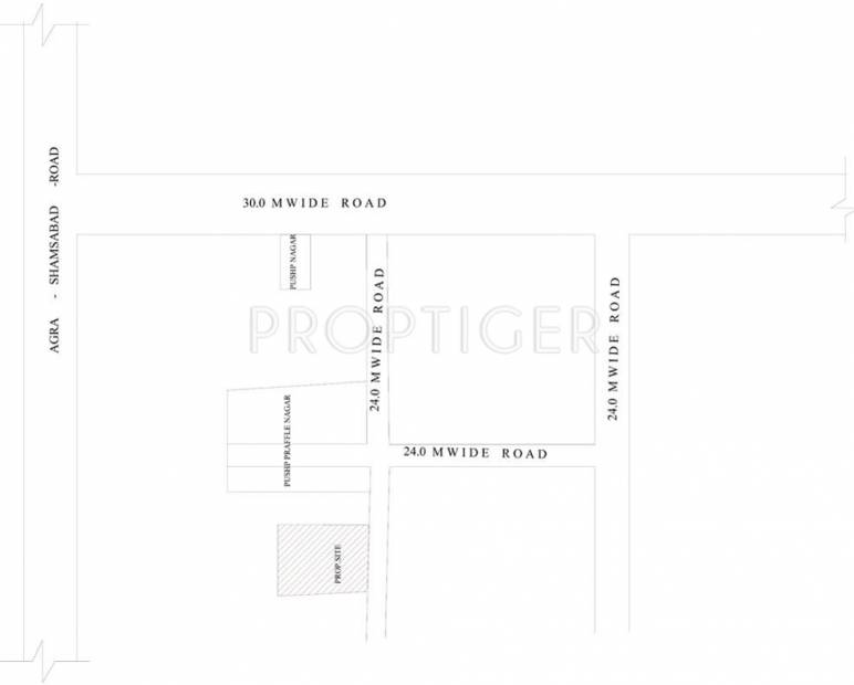 Images for Location Plan of Pushpanjali Gold