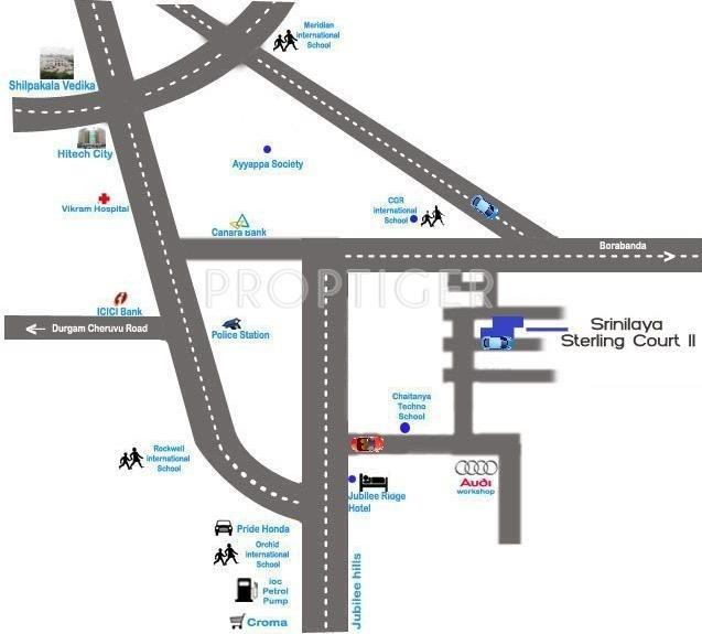 Images for Location Plan of Pradeep Srinilaya Sterling Court II