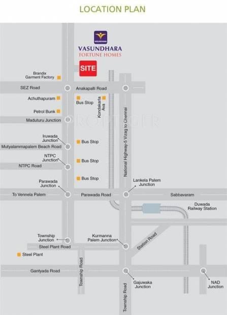 Images for Location Plan of Vasundhara Lorvens Fortune Homes