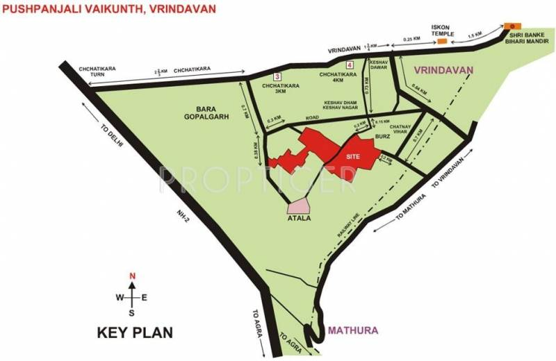Images for Location Plan of Pushpanjali Baikunth