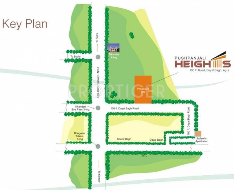 Images for Location Plan of Pushpanjali Heights