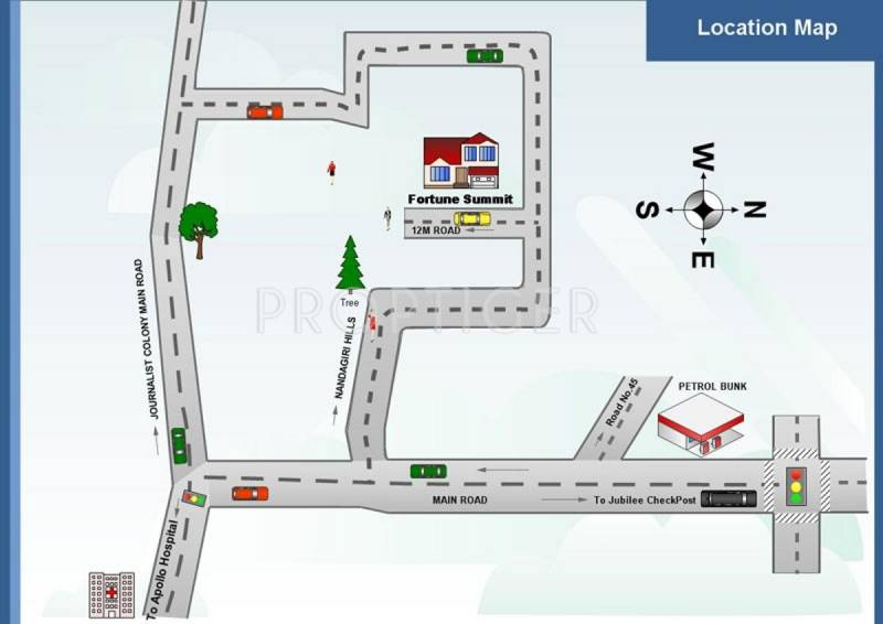 Images for Location Plan of Sri Fortune Summit