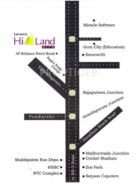 Images for Location Plan of Vasundhara Lorvens Hi Land