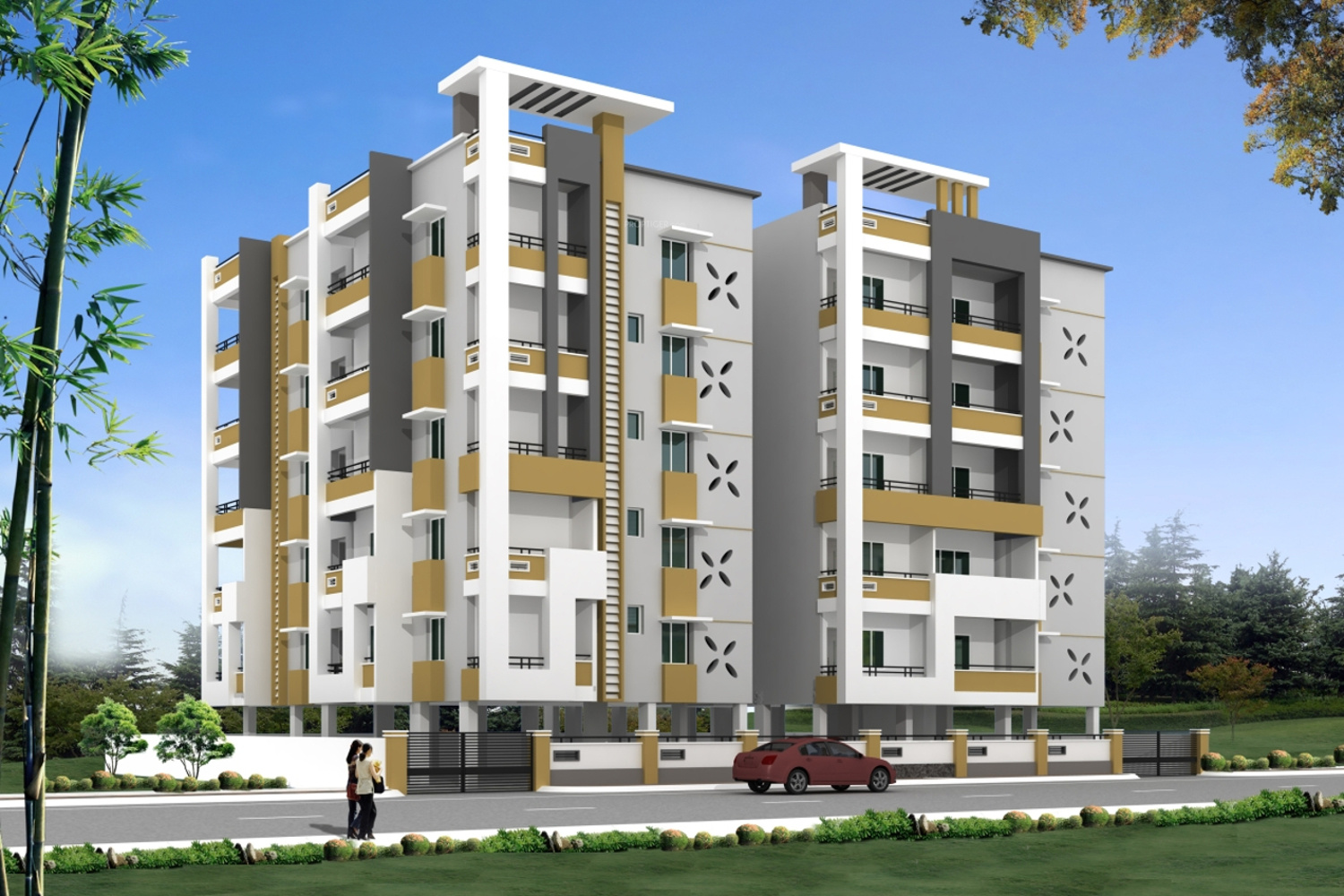 2600 sq ft 3 bhk 3t apartment for sale in hallmark maple for Apartment plans hyderabad
