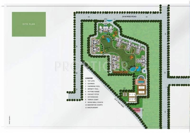 park-arena Images for Site Plan of BPTP Park Arena