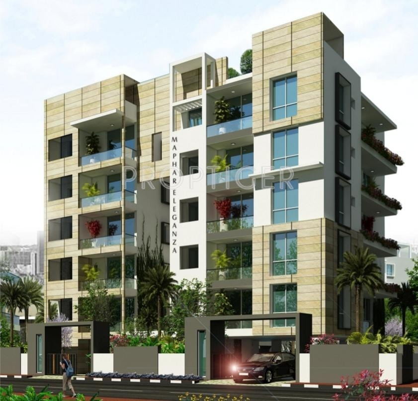 1968 Sq Ft 3 BHK 3T Apartment For Sale In Maphar Eleganza