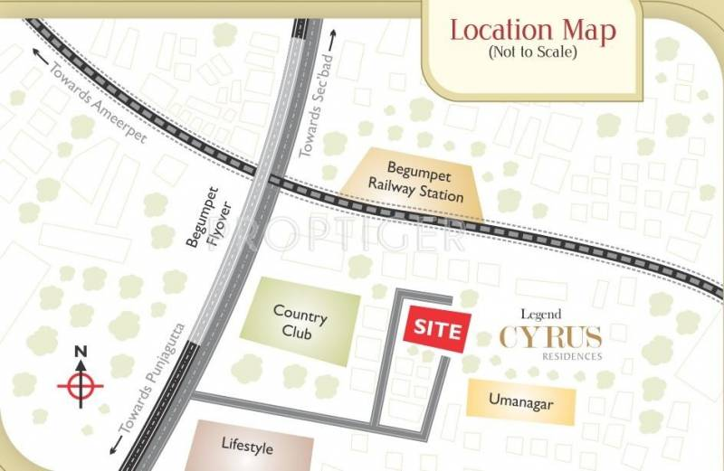 Images for Location Plan of Legend Cyrus