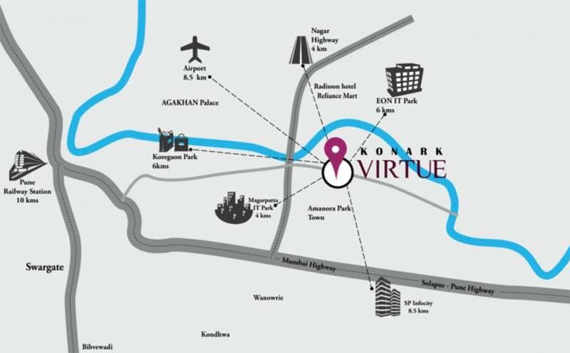 Images for Location Plan of Karia Konark Virtue