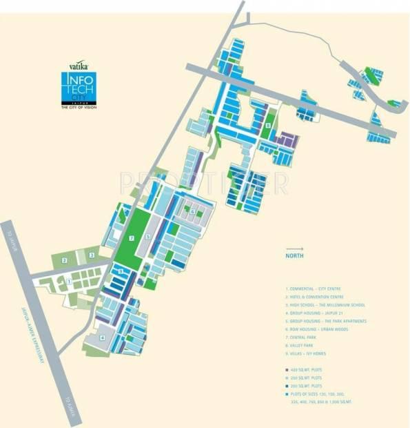 Images for Location Plan of Vatika Infotech City Plots
