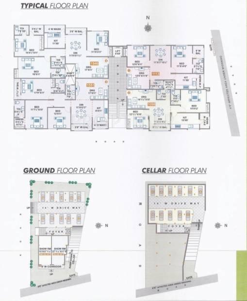 Images for Cluster Plan of Maphar Faiz Residency