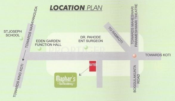 Images for Location Plan of Maphar Faiz Residency