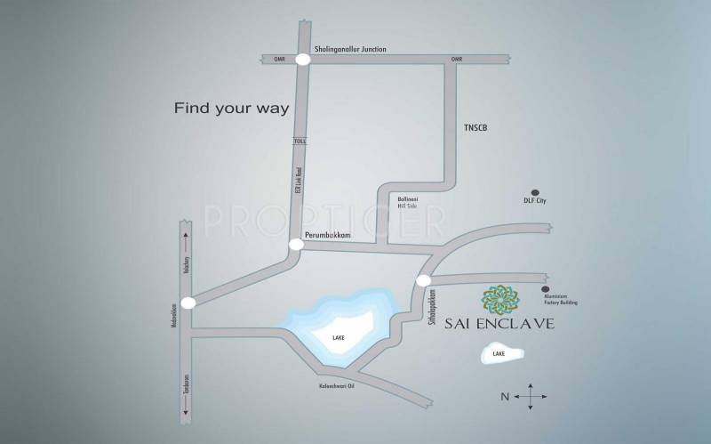 Images for Location Plan of MMRF Sai Enclave