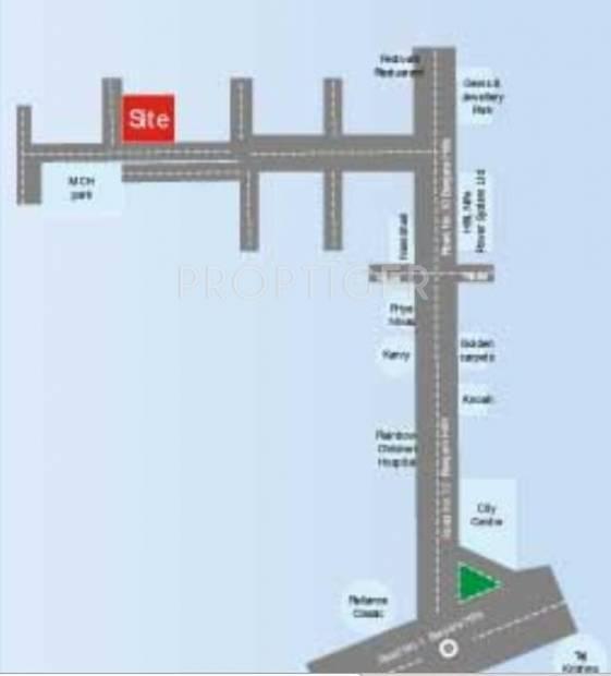 Images for Location Plan of Sri Banjara Classic