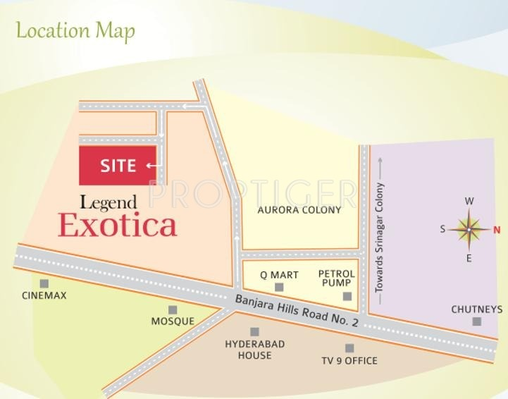 Images for Location Plan of Legend Exotica