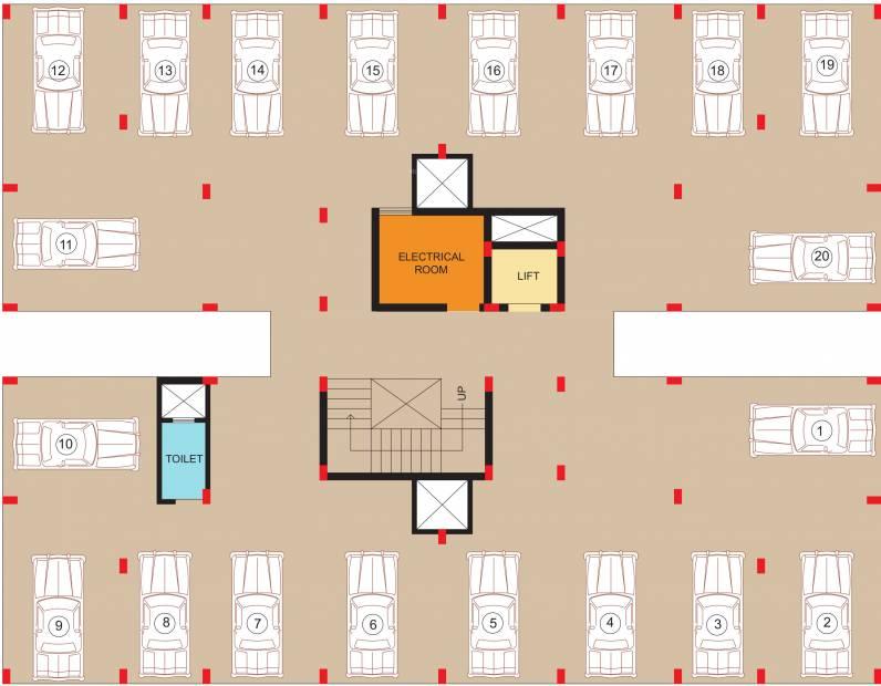 Images for Cluster Plan of KN Ananta Villa