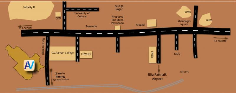 Images for Location Plan of KN Ananta Villa