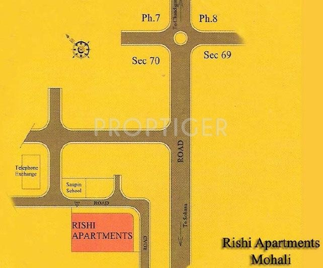 Images for Location Plan of Mittals Rishi Apartments