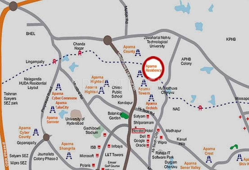 Images for Location Plan of Aparna Constructions Residency