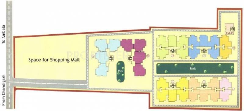 Images for Layout Plan of Mittals Rishi Apartments