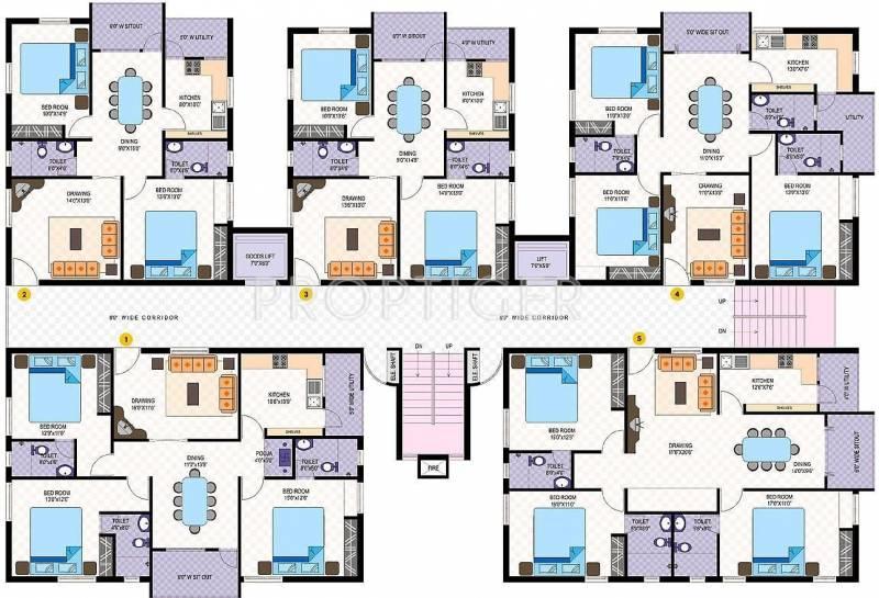Images for Cluster Plan of Amsri Central Court