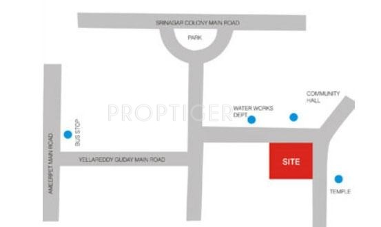 Images for Location Plan of Aparna Constructions Shivkailash