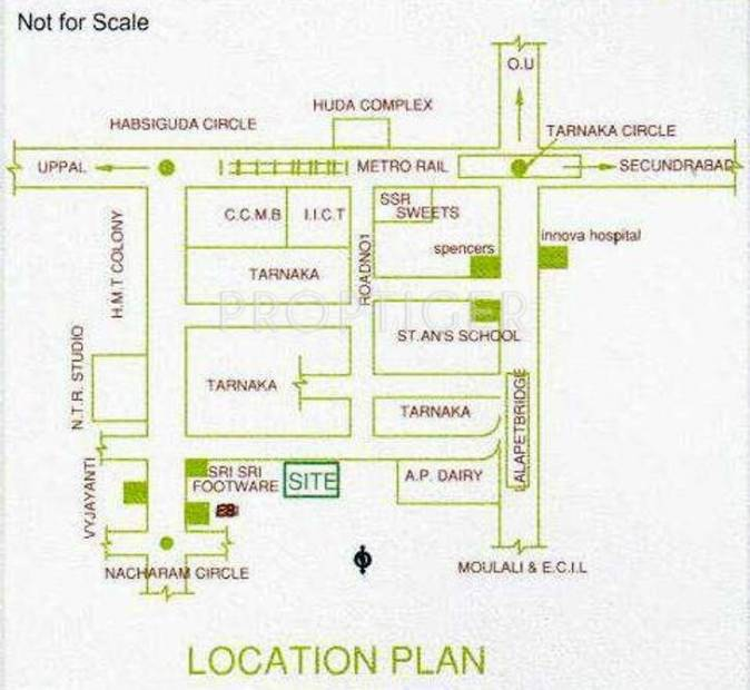 Images for Location Plan of Go Green Go Green Residency