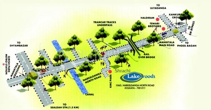 Images for Location Plan of Shrachi Lake Woods