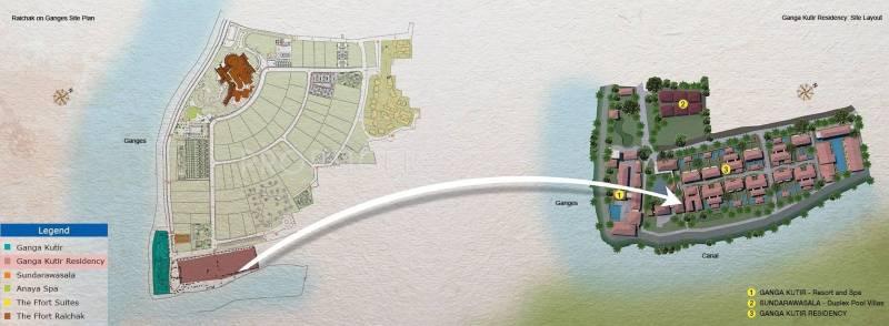 Images for Location Plan of Ambuja Ganga Kutir Residency