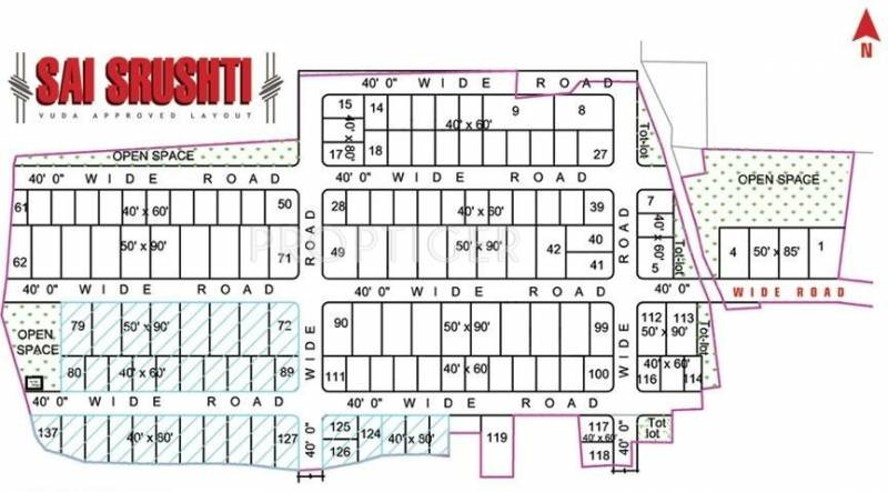 Images for Layout Plan of Bhavya Sai Srushti
