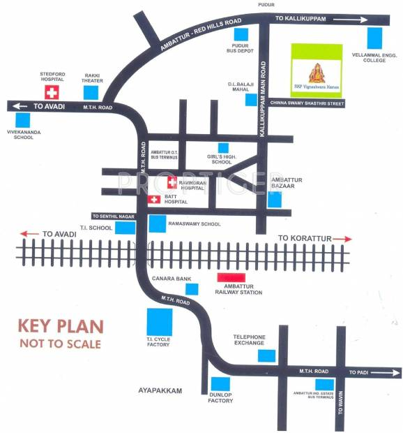 Images for Location Plan of  Vigneshvara Homes