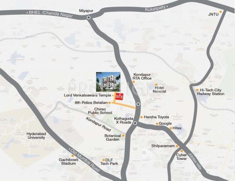 Images for Location Plan of RSRPPL Srujana Residency
