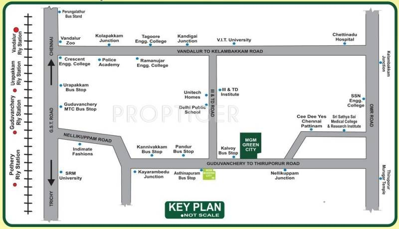 Images for Location Plan of SM MGM Green City