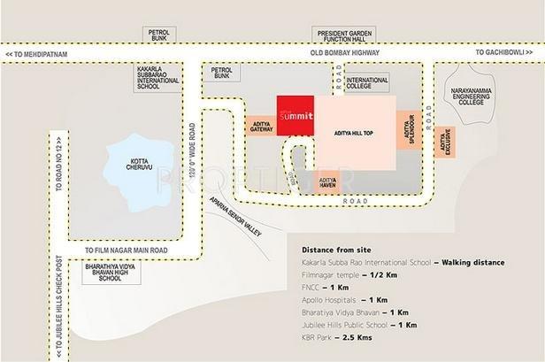 Images for Location Plan of Sri Aditya Summit