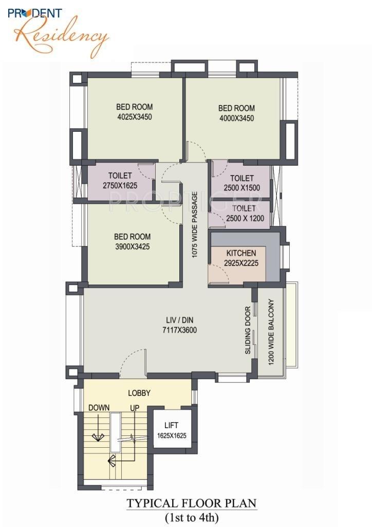 Prudent residency in alipore kolkata price location for X2 residency floor plan