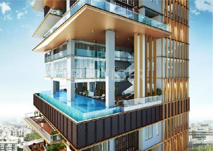 Rohan lifescapes trump tower in babulnath road mumbai for Architecture design for home in ghaziabad