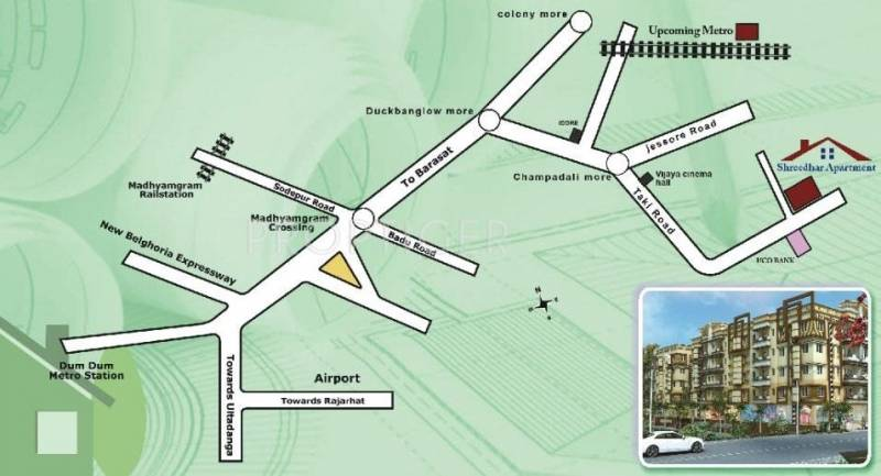 Images for Location Plan of Shree Group Shreedhar Apartment