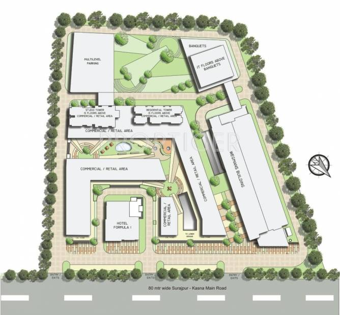 Images for Layout Plan of Wegmans Trustone Greens