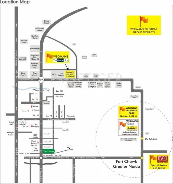 Images for Location Plan of Wegmans Trustone Greens