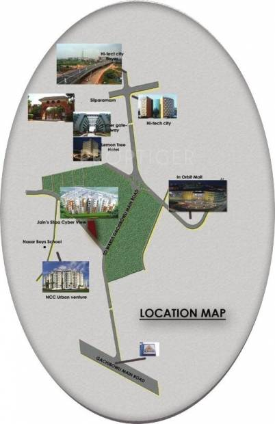 Images for Location Plan of Silpa Cyber View