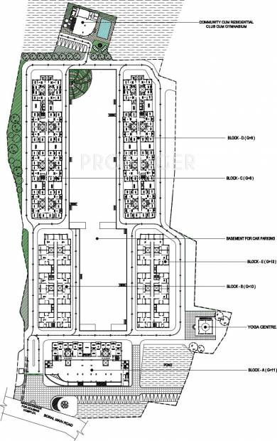 Images for Layout Plan of Omnitech Lake View