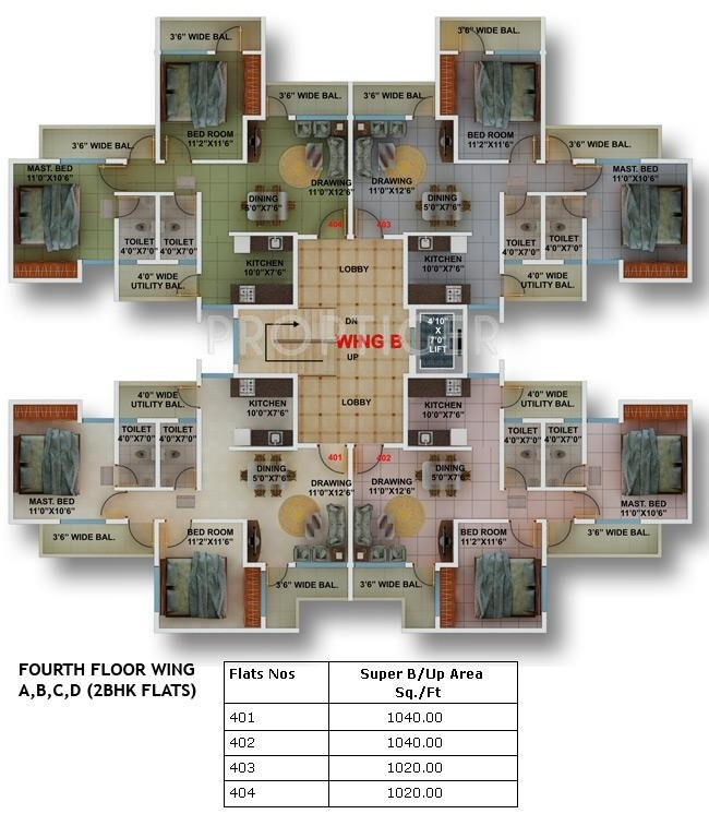 1200 sq ft 2 bhk 2t apartment for sale in green city for Apartment plans 1200 sq ft