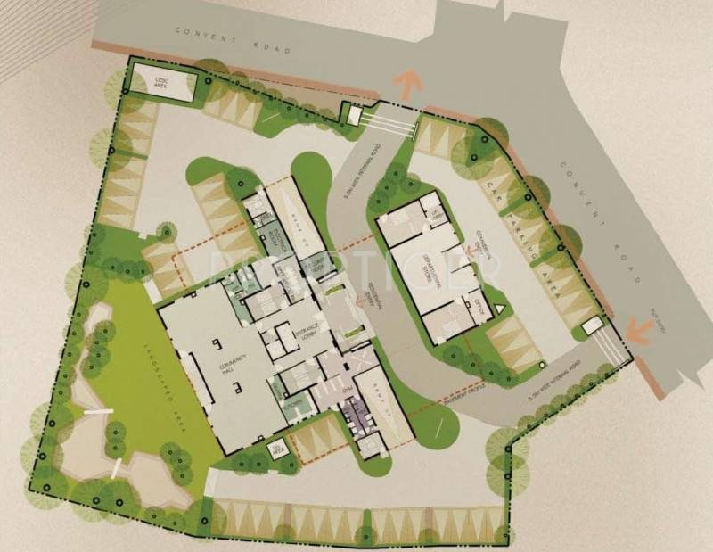 Images for Layout Plan of Belani Convent Corner