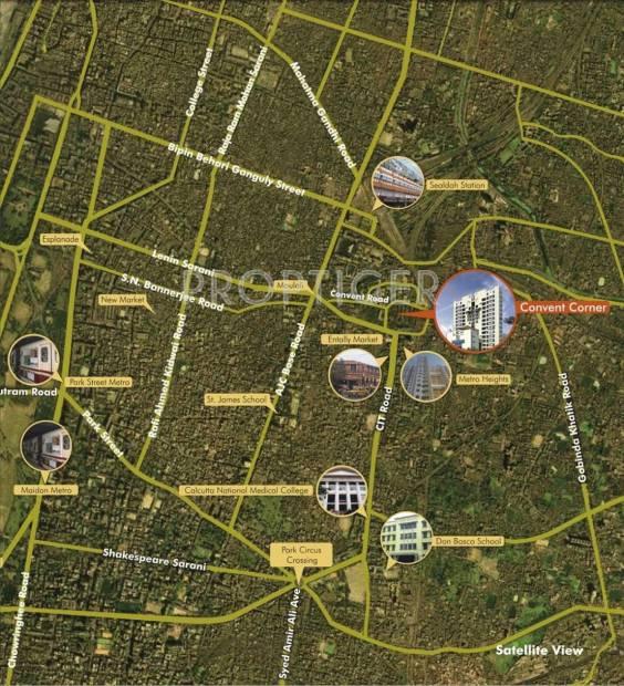 convent-corner Images for Location Plan of Belani Convent Corner