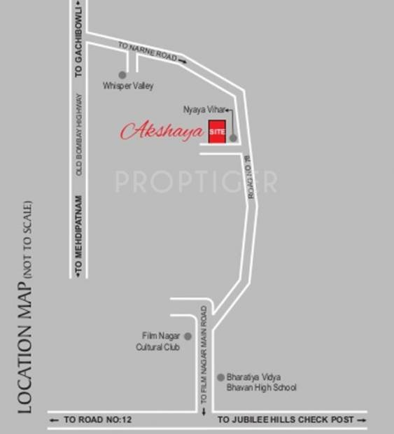 Images for Location Plan of Sri Aditya Akshaya Pride