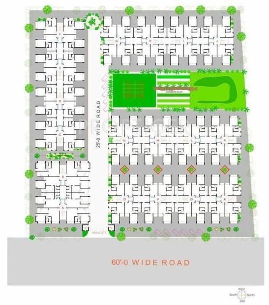 Dharmadev Infrastracture Swaminarayan Park 3 Site Plan