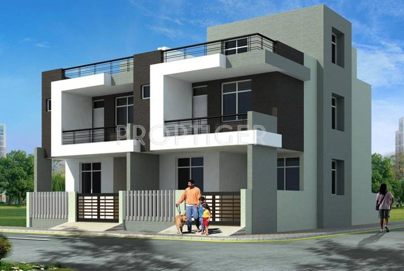 Images for Elevation of Aman Builders Aman Bungalows