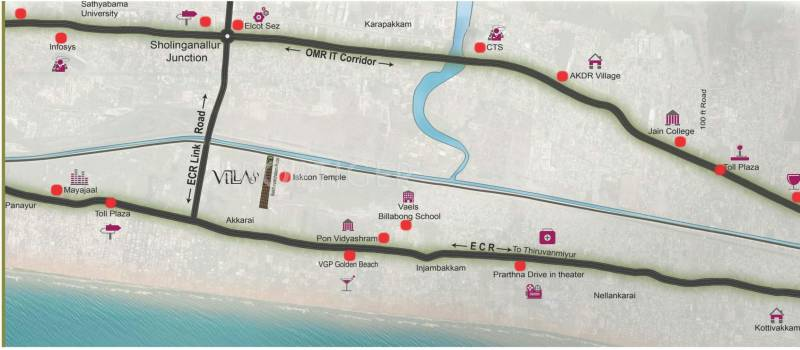 Images for Location Plan of Voora Villa 96